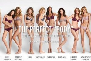 Muchas internautas se enojaron con la marca por promocionar ideales errados de belleza Foto:Victoria´s Secret. Imagen Por: