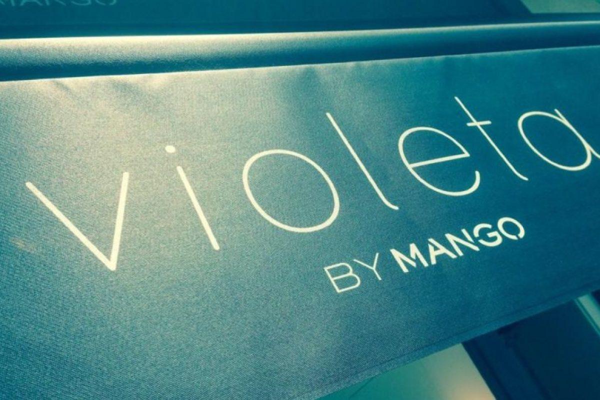 """Violeta tenía la """"talla M"""" como """"Plus Size"""" Foto:MNG. Imagen Por:"""