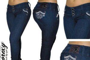 """""""Anorexy Jeans"""" es una marca colombiana que vende jeans para mujeres curvilíneas, muy al estilo de este país. Foto:Anorexy. Imagen Por:"""