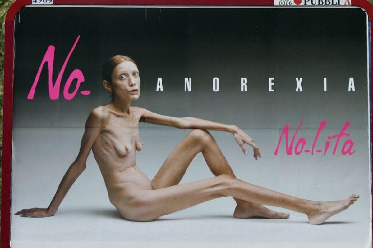 Sobre todo por mostrar su enflaquecido cuerpo de una manera cruda. Foto:No-Lita. Imagen Por: