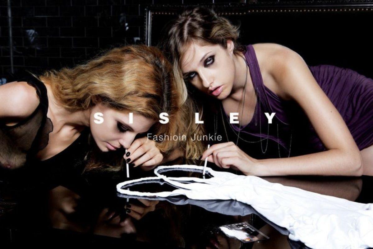"""Sisley no lo hizo mejor en 2007 con su campaña """"Fashion Junkie"""" Foto:Sisley. Imagen Por:"""