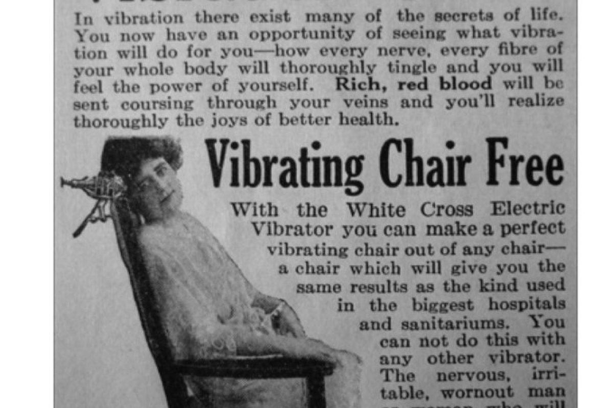"""Este aparato se recomendaba a las mujeres """"histericas"""" usar vibradores para satisfacerlas sexualmente. Los doctores se """"ahorraron"""" el trabajo con esto. Lo curioso es saber cómo funcionaba y si en realidad causaba orgasmos. Foto:Gurl. Imagen Por:"""