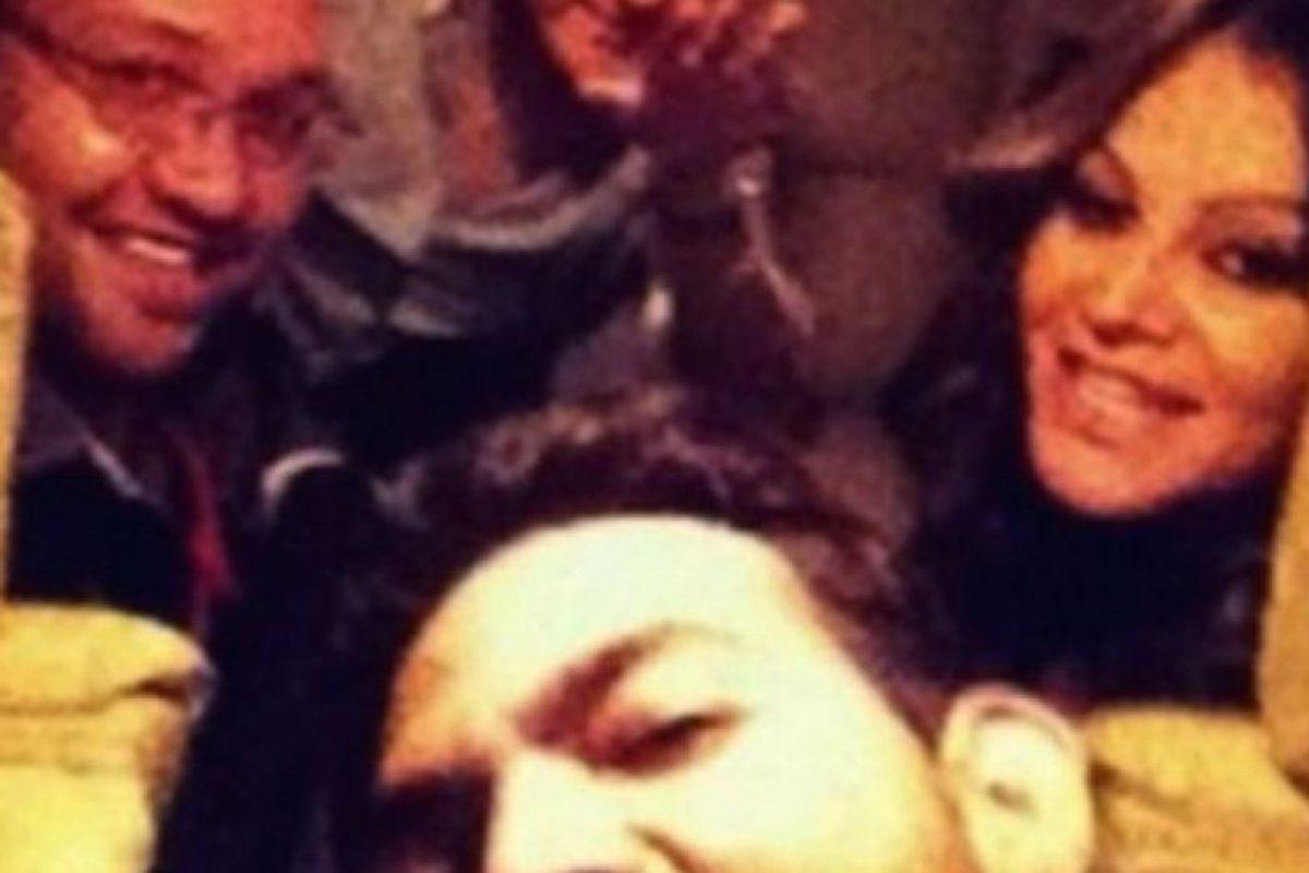 La cantante mexicana Jenni Rivera se tomó este selfie en el avión que después se estrellaría. Foto:Imgur. Imagen Por: