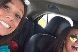 Collette Moreno se tomó un selfie con su amiga. Iban camino a su despedida de soltera. Chocaron contra otro auto y ella murió. Foto:Youtube. Imagen Por: