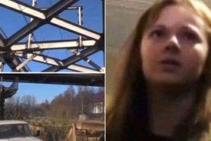 Xenia Ignatieva, adolescente rusa, se quería tomar un selfie en un puente de San Petersburgo, pero perdió el equilibrio y se sujetó a unos cables que la terminaron electrocutando. Foto:Twitter. Imagen Por: