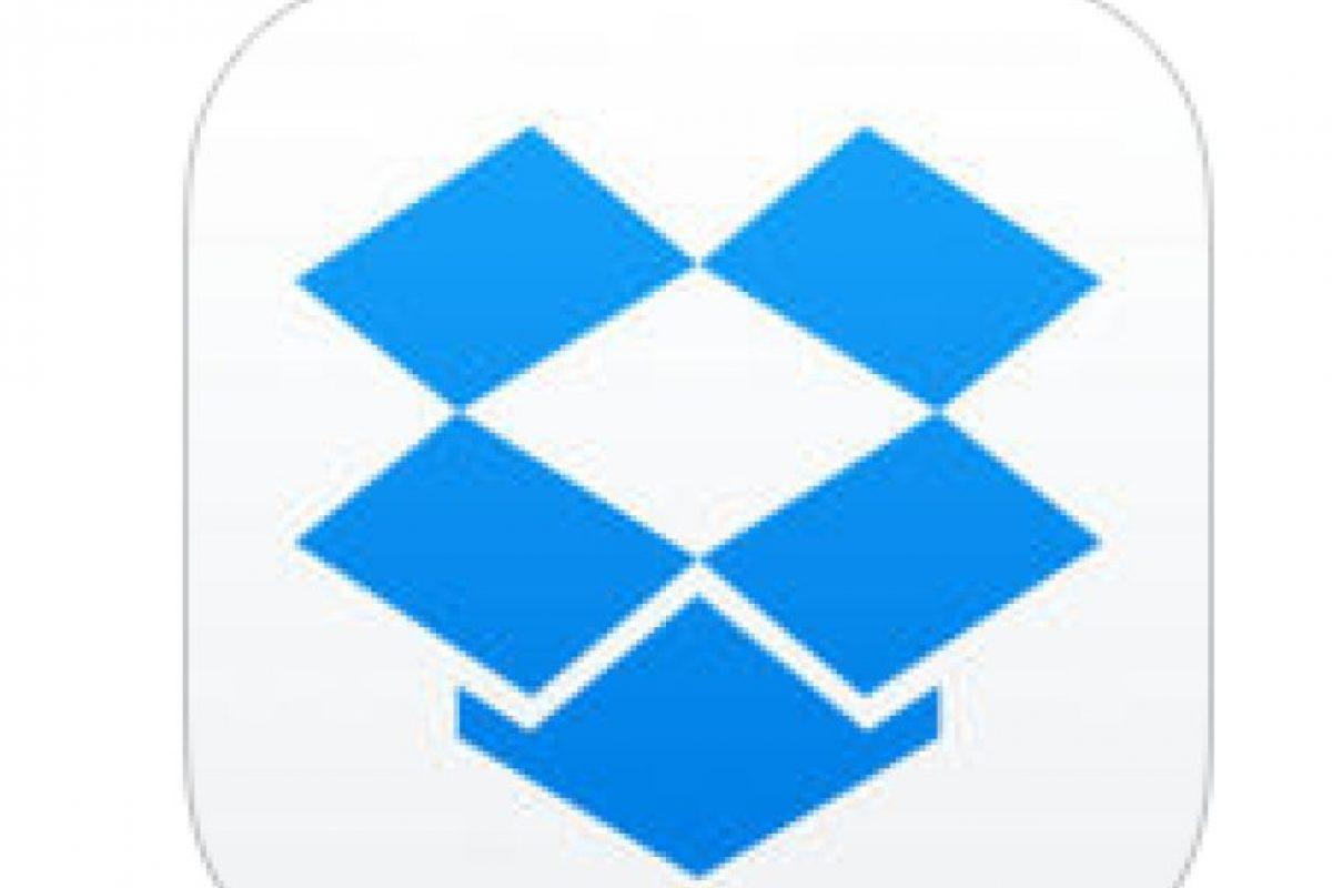 6. Dropbox- A través de esta aplicación se pueden compartir archivos con otras personas. Está disponible para Android y para IOS. Foto:Captura de pantalla. Imagen Por: