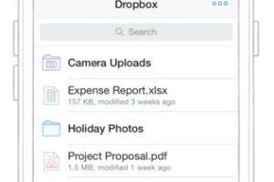 Dropbox Foto:Captura de pantalla. Imagen Por: