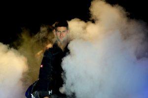 Novak Djokovic venció a Tomas Berdych en el Masters de Londres Foto:AFP. Imagen Por: