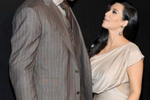 El 20 de agosto de 2011 se casó con el jugador de NBA, Kris Humphries. Foto:Getty Images. Imagen Por: