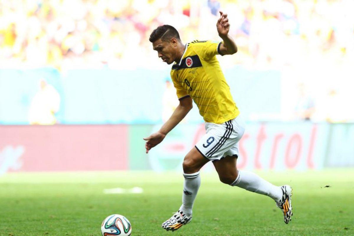 Teófilo Gutiérrez estará en el ataque de los colombianos. Imagen Por: