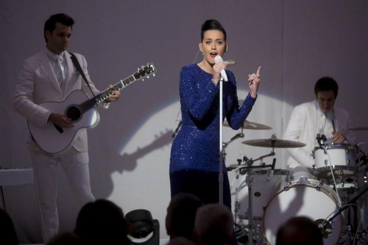 """Adquirió fama tras el lanzamiento del sencillo «""""Kissed a Girl"""" en año 2008 Foto:Getty Images. Imagen Por:"""