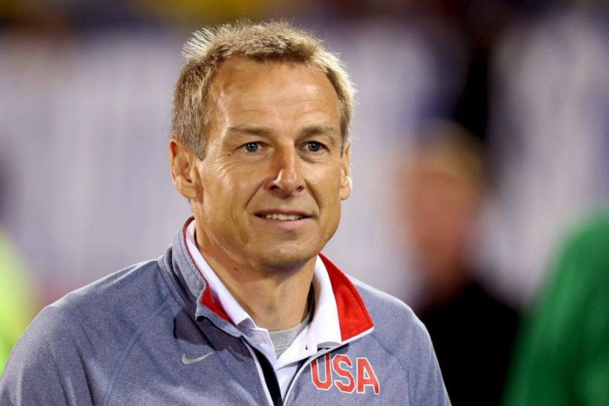 Jurgen Klinsmann sigue al frente del combinado de las barras y las estrellas Foto:Getty. Imagen Por: