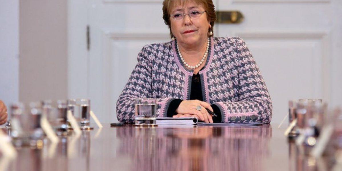 Bachelet y falla del Metro: