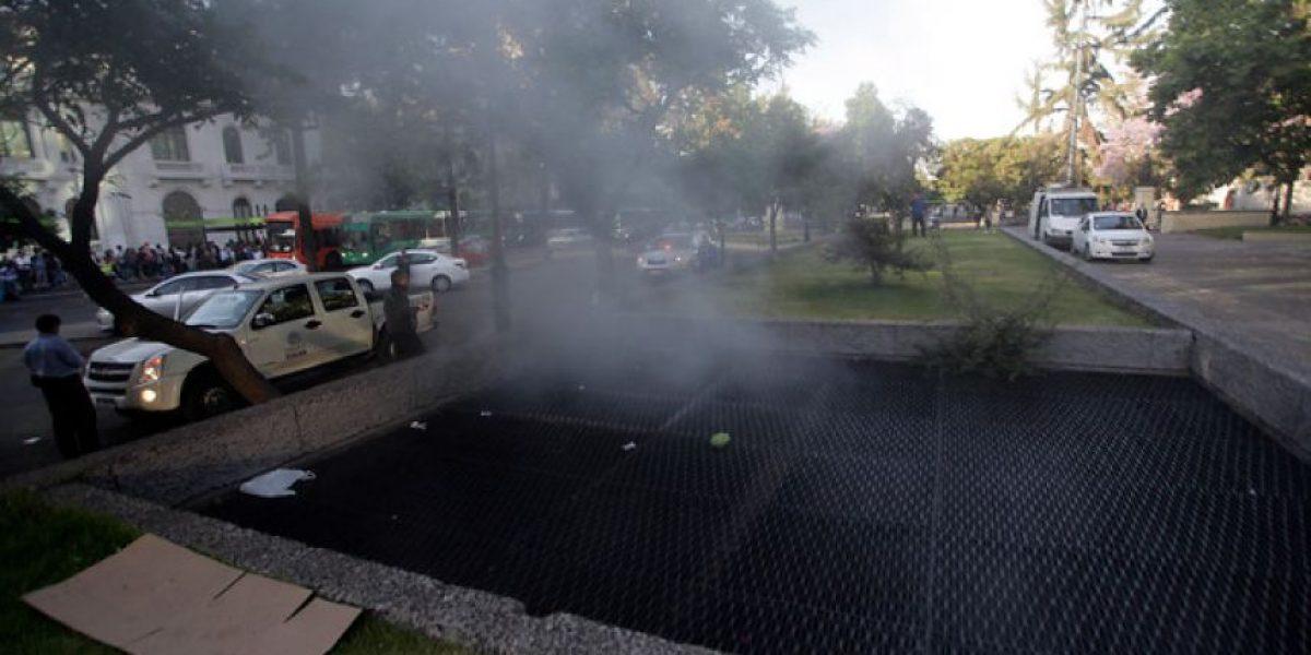 Galería: Humo y caos por falla eléctrica del Metro de Santiago