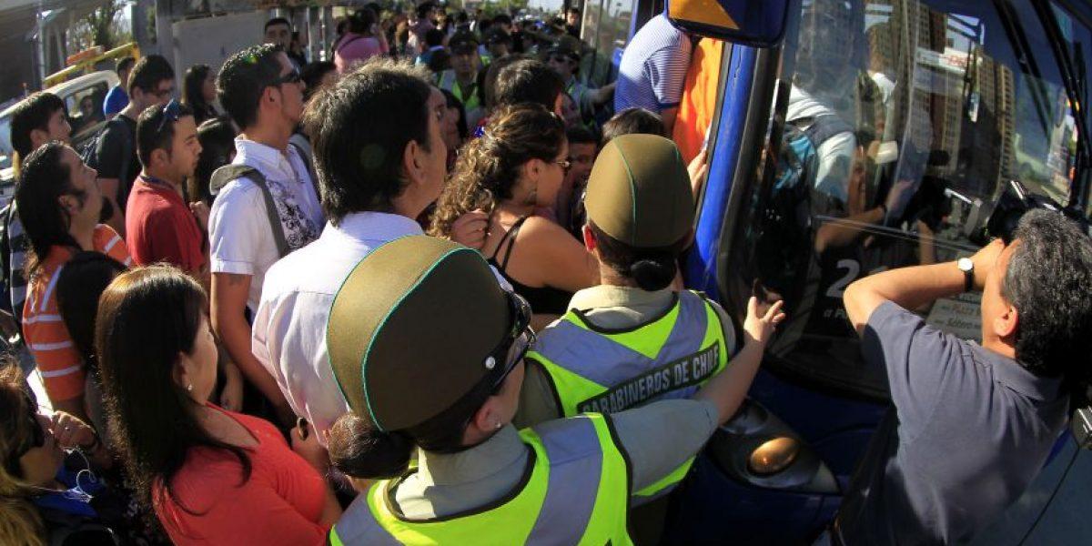 Fotos: Así es el caos en Santiago tras falla en el Metro