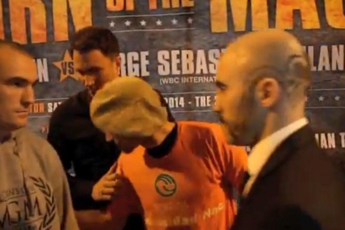 Anthony Fitzgerland y Gary O'Sullivan dieron show antes de su combate del próximo sábado Foto:Youtube: iFL TV. Imagen Por: