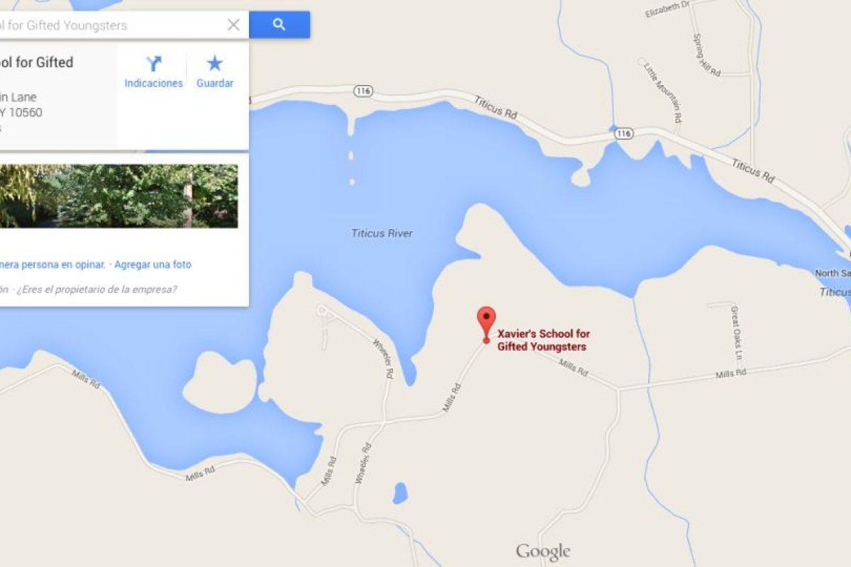 La ubicación de la Escuela para Jóvenes Talentos del profesor Charles Xavier.. Imagen Por: