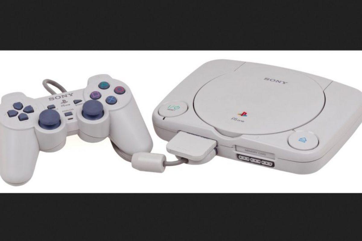 PlayStation Slim Foto:SONY. Imagen Por: