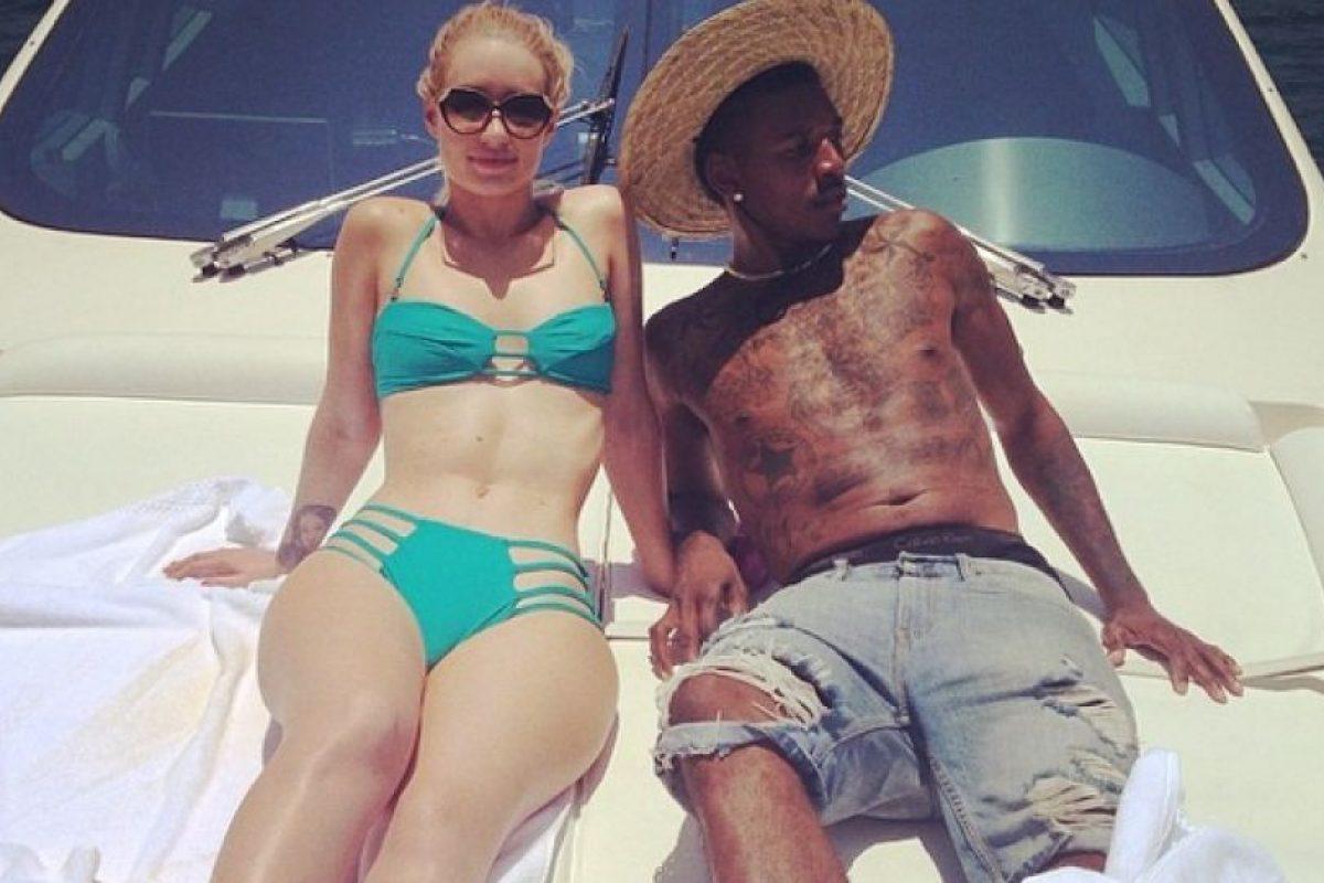 La rapera australiana y el jugador de los Lakers, Nick Young, se conocieron en noviembre del año pasado, en Twitter Foto:Instagram: @thenewclassic. Imagen Por: