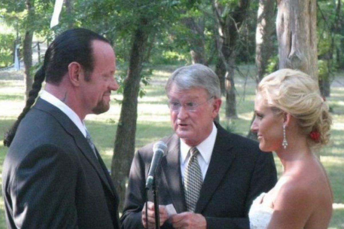 Se casaron en junio de 2010 y procrearon a una hija de nombre Kaia Foto:WWE. Imagen Por: