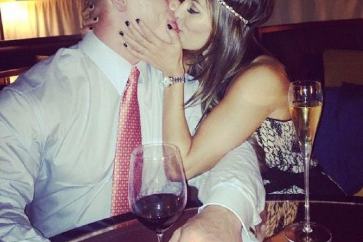 John Cena y Nikki Bella Foto:Instagram: @thenikkibella. Imagen Por: