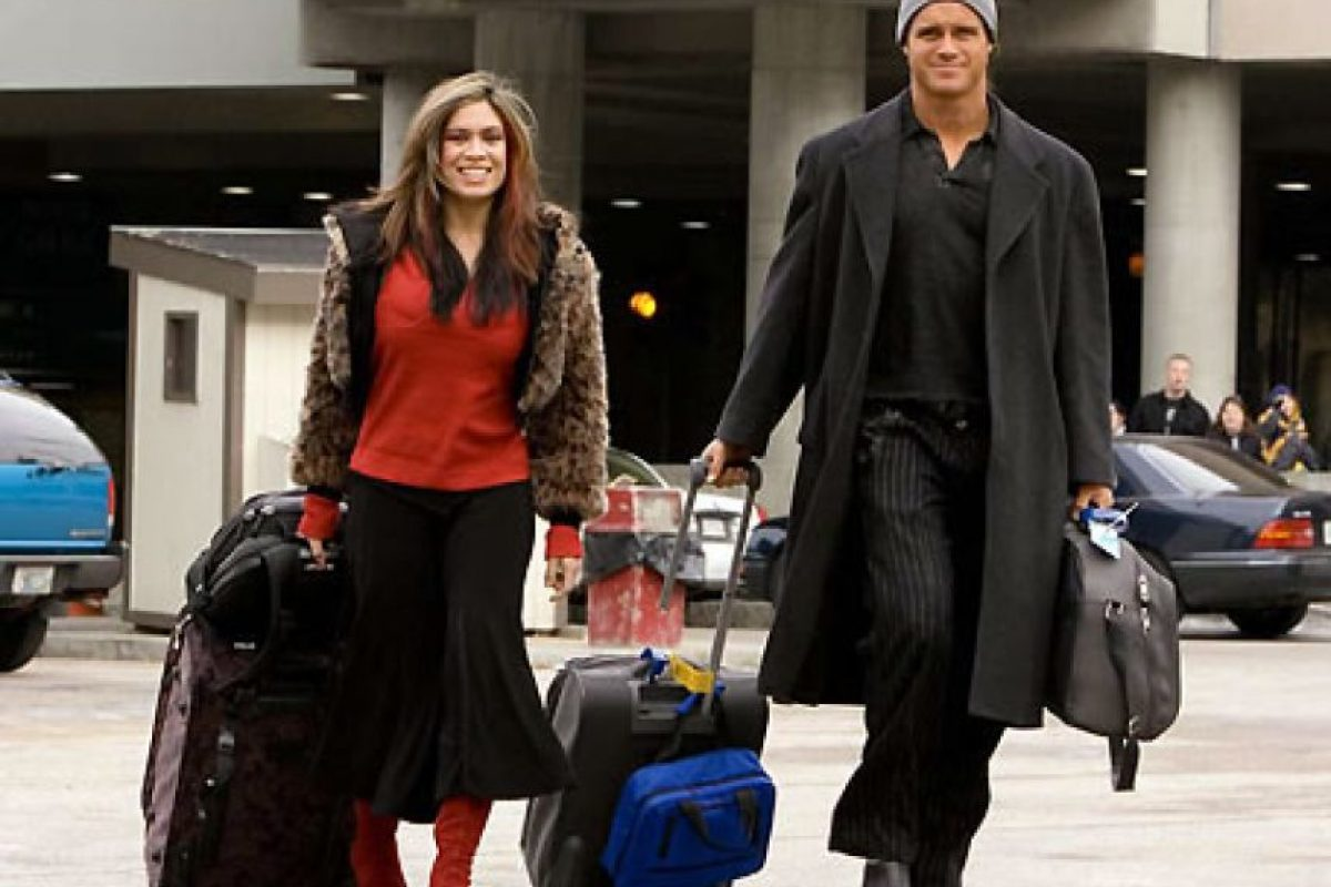 Melina y John Morrison Foto:WWE. Imagen Por: