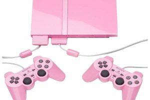 PlayStation 2 Slim rosa Foto:SONY. Imagen Por: