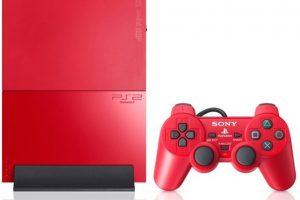 PlayStation 2 Slim roja Foto:SONY. Imagen Por: