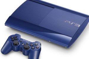 PlayStation 3 Slim azul Foto:SONY. Imagen Por: