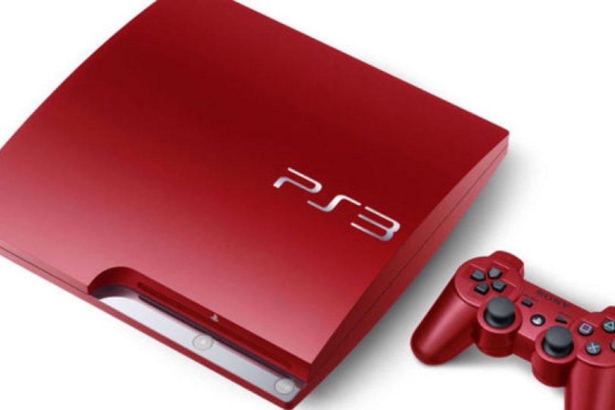 PlayStation 3 Slim roja Foto:SONY. Imagen Por: