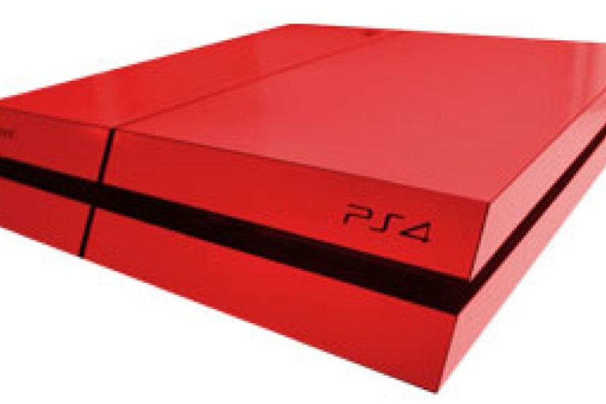 PlayStation 4 roja Foto:SONY. Imagen Por: