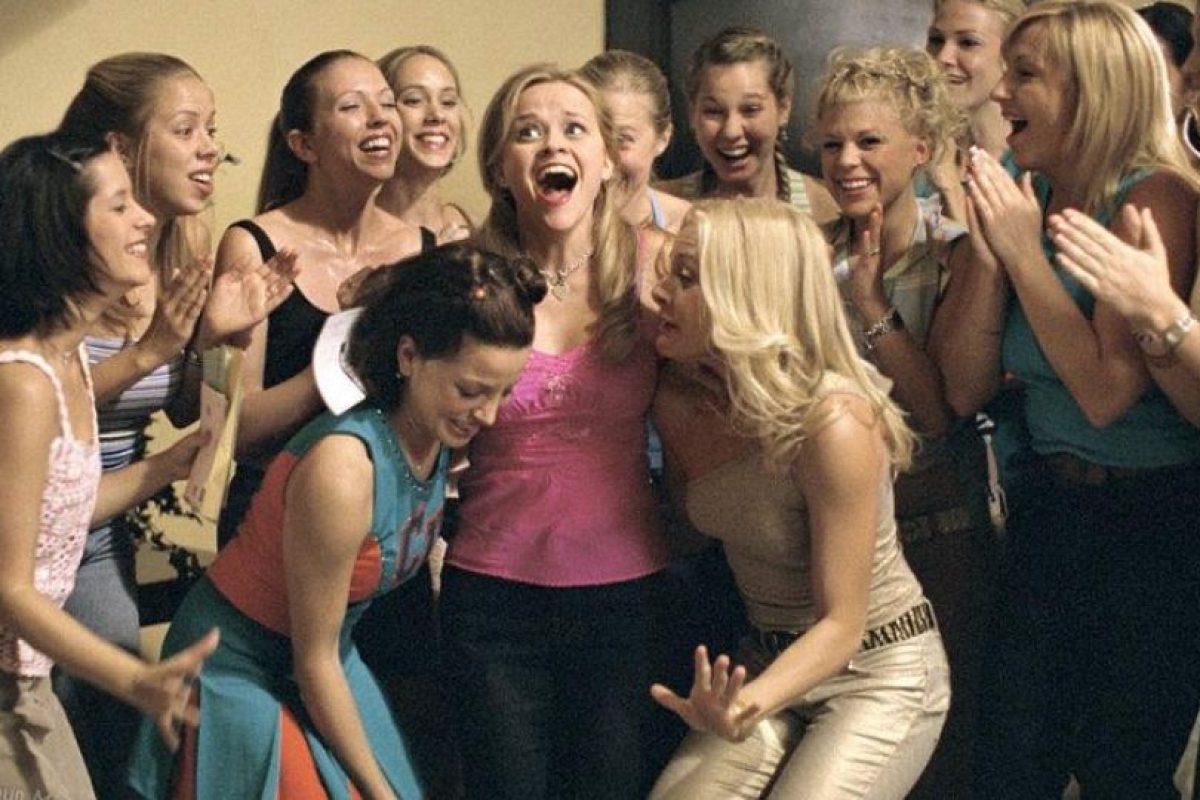 """Protagonizada por Reese Witherspoon, Selma Blair, Luke Wilson y producido por Marc Platt Foto:Facebook """"Legalmente rubia"""". Imagen Por:"""