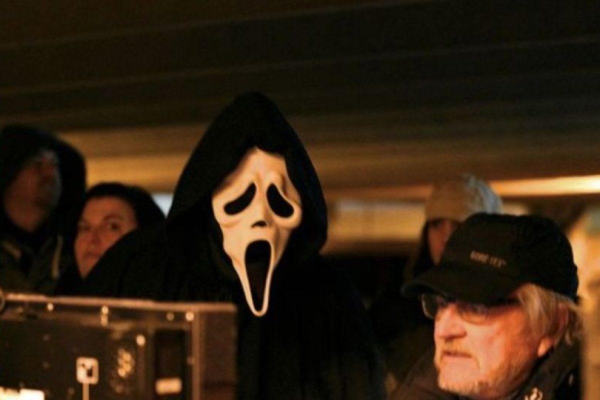 "GhostFace, de ""Scream"" Foto:Facebook/Scream. Imagen Por:"