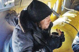 Alexei Gorulenko se comió a su mejor amigo para sobrevivir Foto:Ministerio Ruso de Situaciones de Emergencia. Imagen Por:
