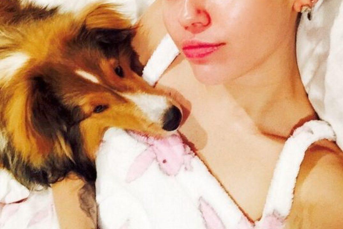 La familia del modelo ya conoce a Miley Foto:Instagram @mileycyrus. Imagen Por:
