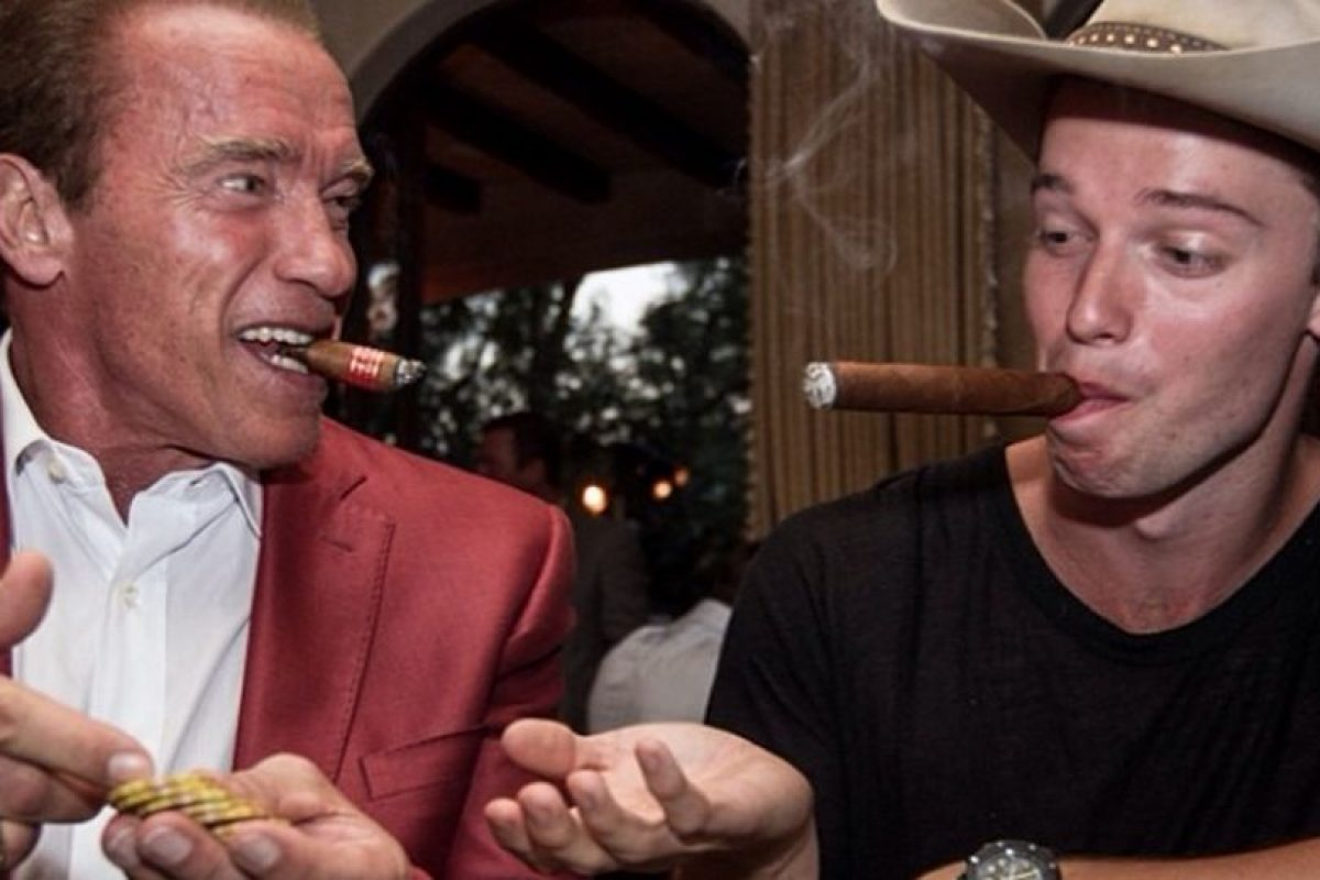 Es hijo del actor Arnold Schwarzenegger Foto:Instagram @patrickschwarzenegger. Imagen Por: