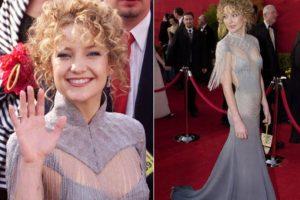 Kate Hudson en su primera gala tuvo el peinado menos sexy de la historia Foto:Getty Images. Imagen Por: