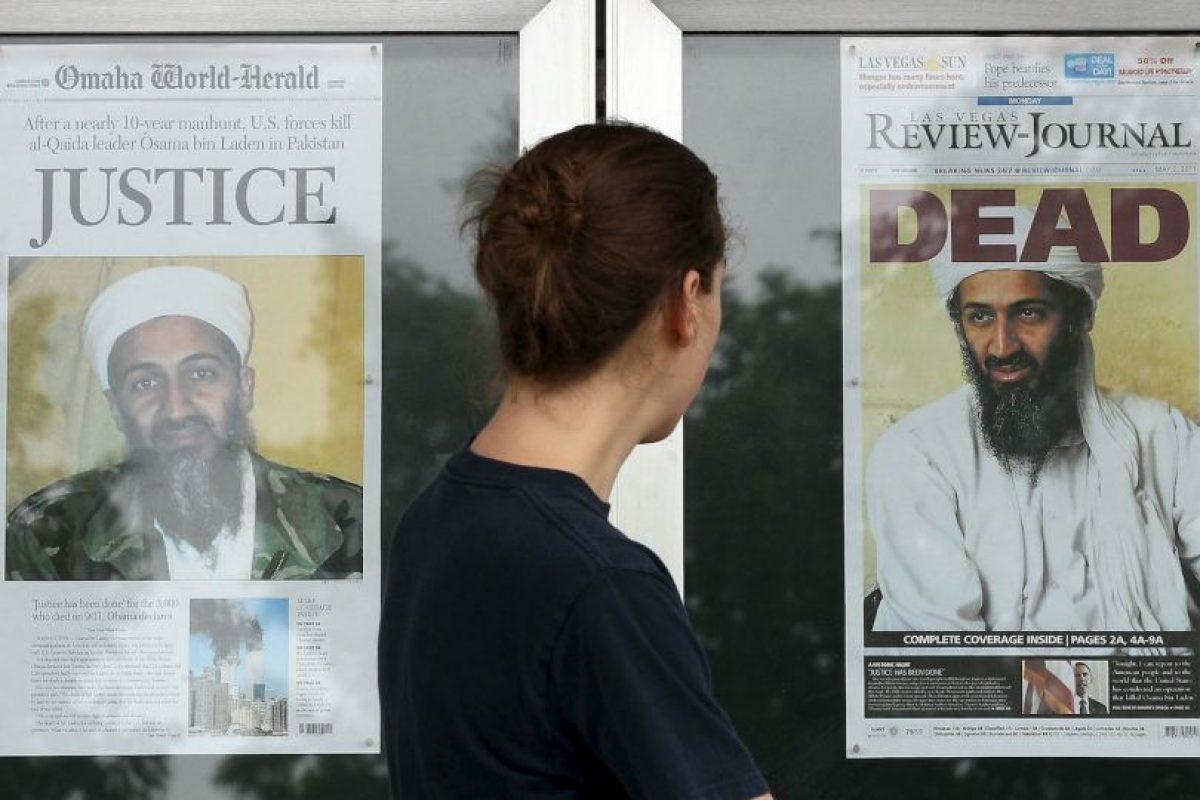 La muerte de Osama Bin Laden se anunció el 1 de mayo de 2011. Foto:Getty. Imagen Por: