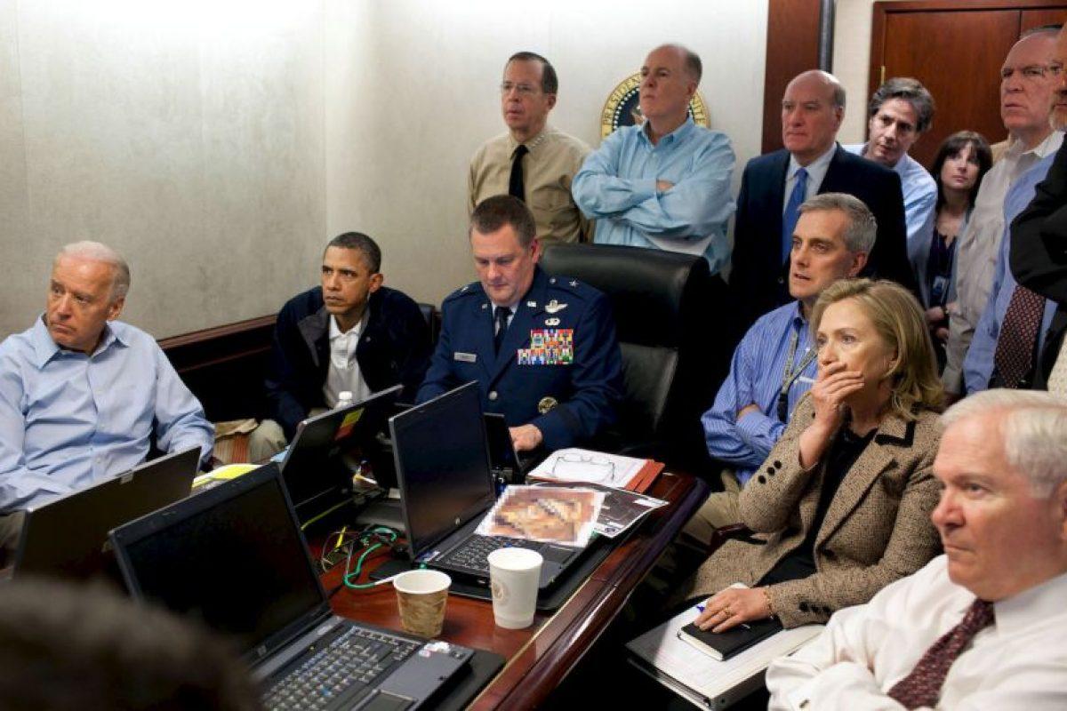 Foto del día en que asesinaron a Osama Bin Laden. Foto:Getty. Imagen Por: