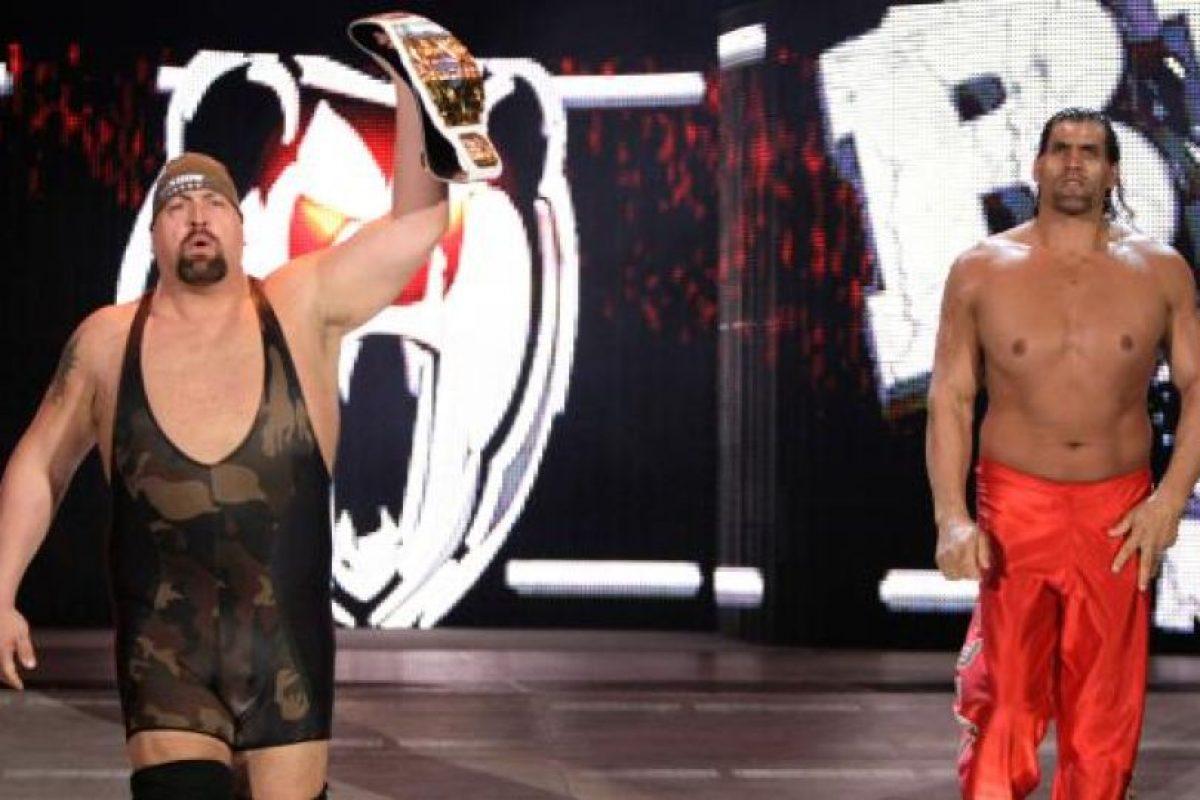 El gigante tuvo batallas memorables ante Big Show y Undertaker Foto:WWE. Imagen Por: