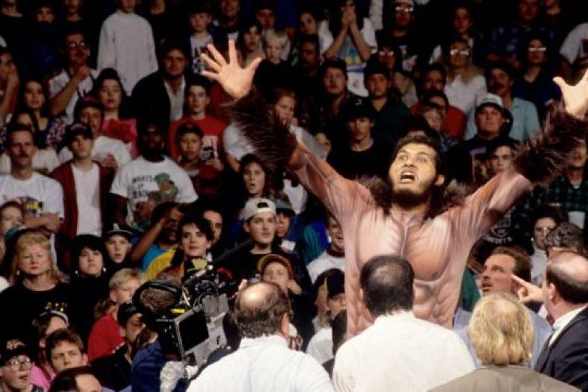 Medía 2.44 metros (8 pies) Foto:WWE. Imagen Por: