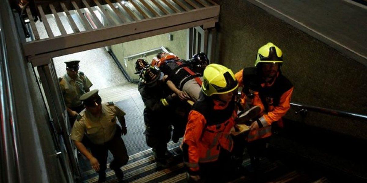 Metro sufrió nuevo incidente por hombre que cayó a las vías en estación Moneda