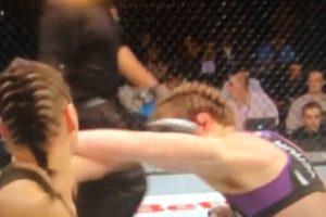 Smith perdió su tercera batalla en cuatro presentaciones Foto:Youtube: Ed Marchese. Imagen Por: