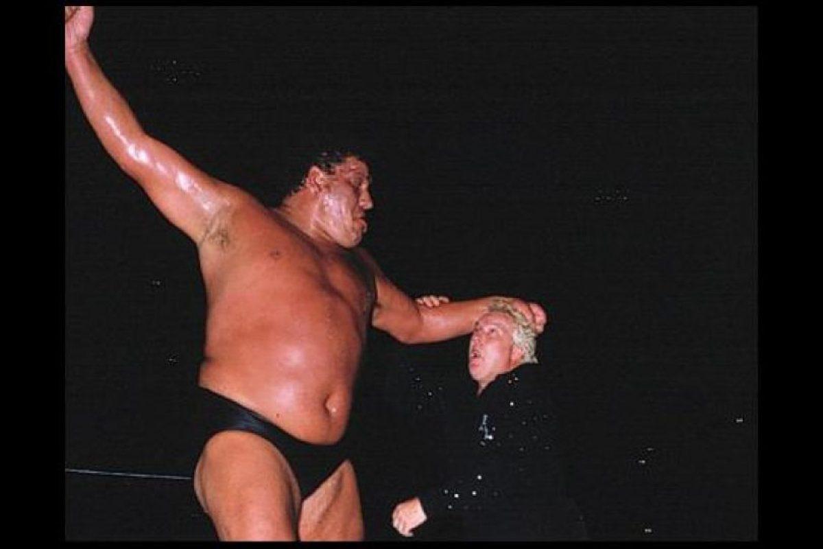 André The Giant Foto:WWE. Imagen Por: