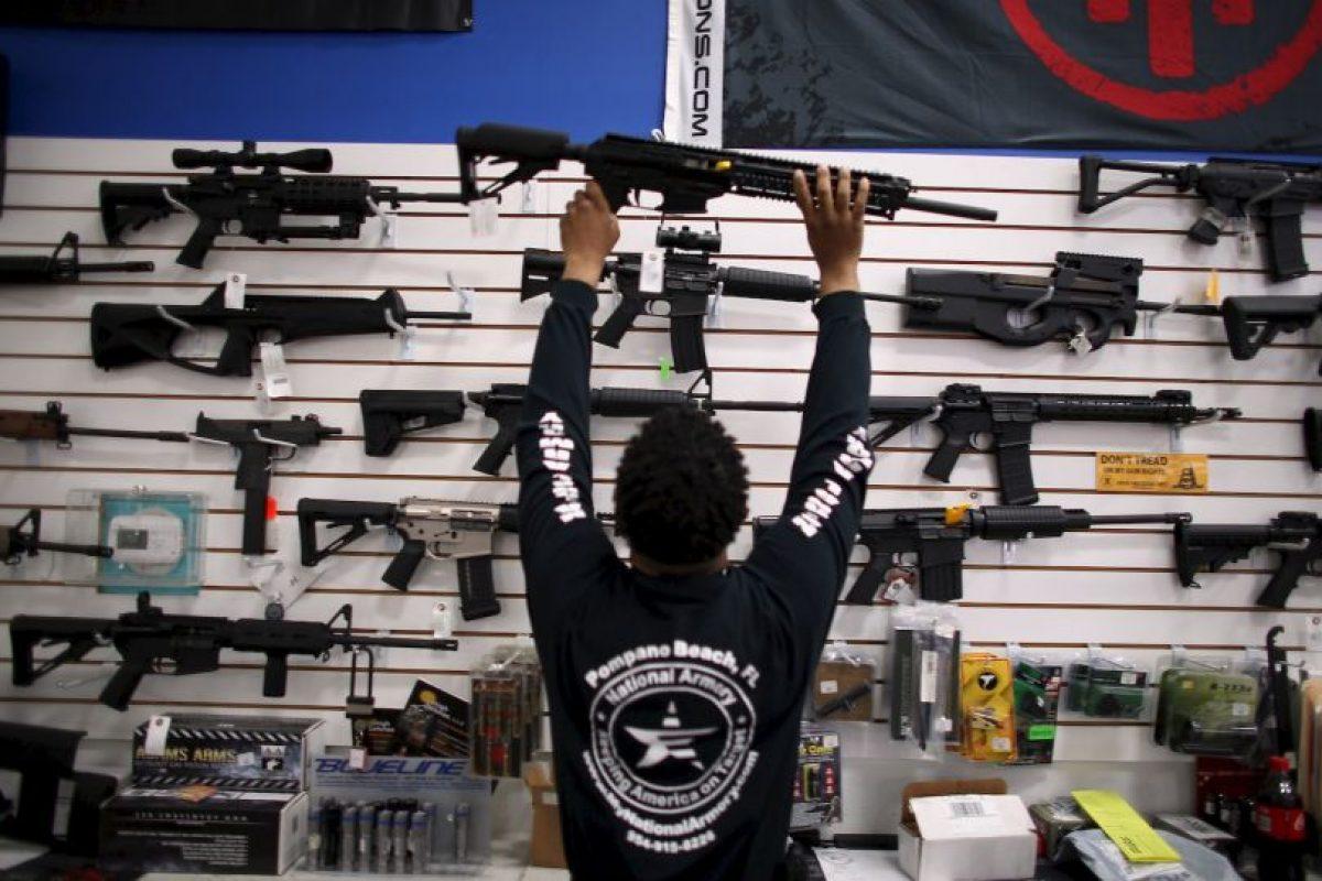 1. 310 millones de armas de fuego en manos de civiles, tanto ilícitas como legales. Foto:Getty Images. Imagen Por: