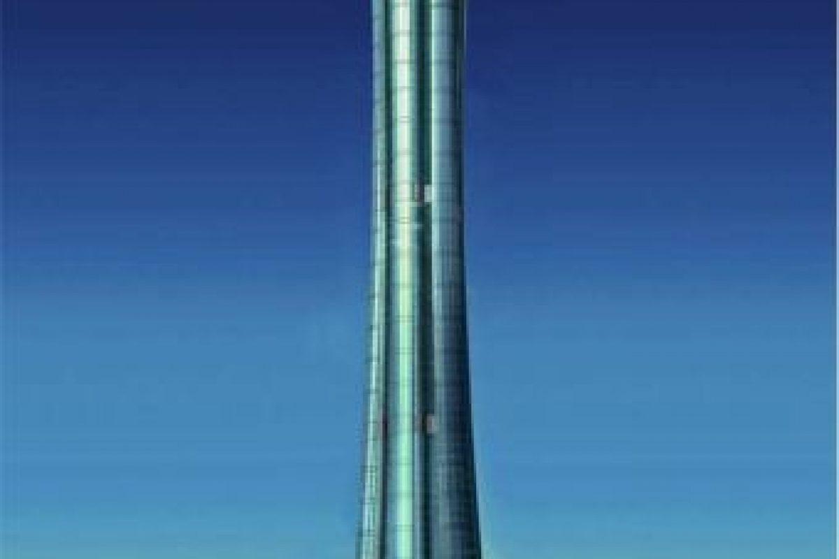 La construcción fue cancelada por problemas con las autoridades aeronáuticas. Foto:Skyscraper City. Imagen Por: