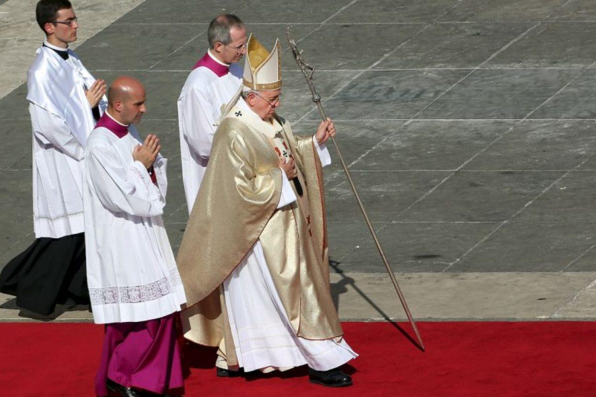 Su misión es limpiar la mala imagen de la Iglesia. Foto:Getty Images. Imagen Por: