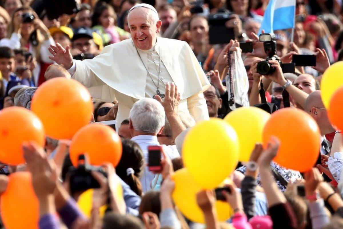 Desde que fue nombrado Papa fue muy bien aceptado por los feligreses. Foto:Getty Images. Imagen Por: