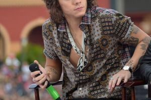 Harry Styles, de One Direction Foto:  Getty. Imagen Por:
