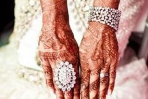 Además de arreglar su cabello y maquillarse, las futuras novias deben decorar sus manos y pies con tatuajes de hena. Foto:Pinterest/Khaleeji Weddings. Imagen Por: